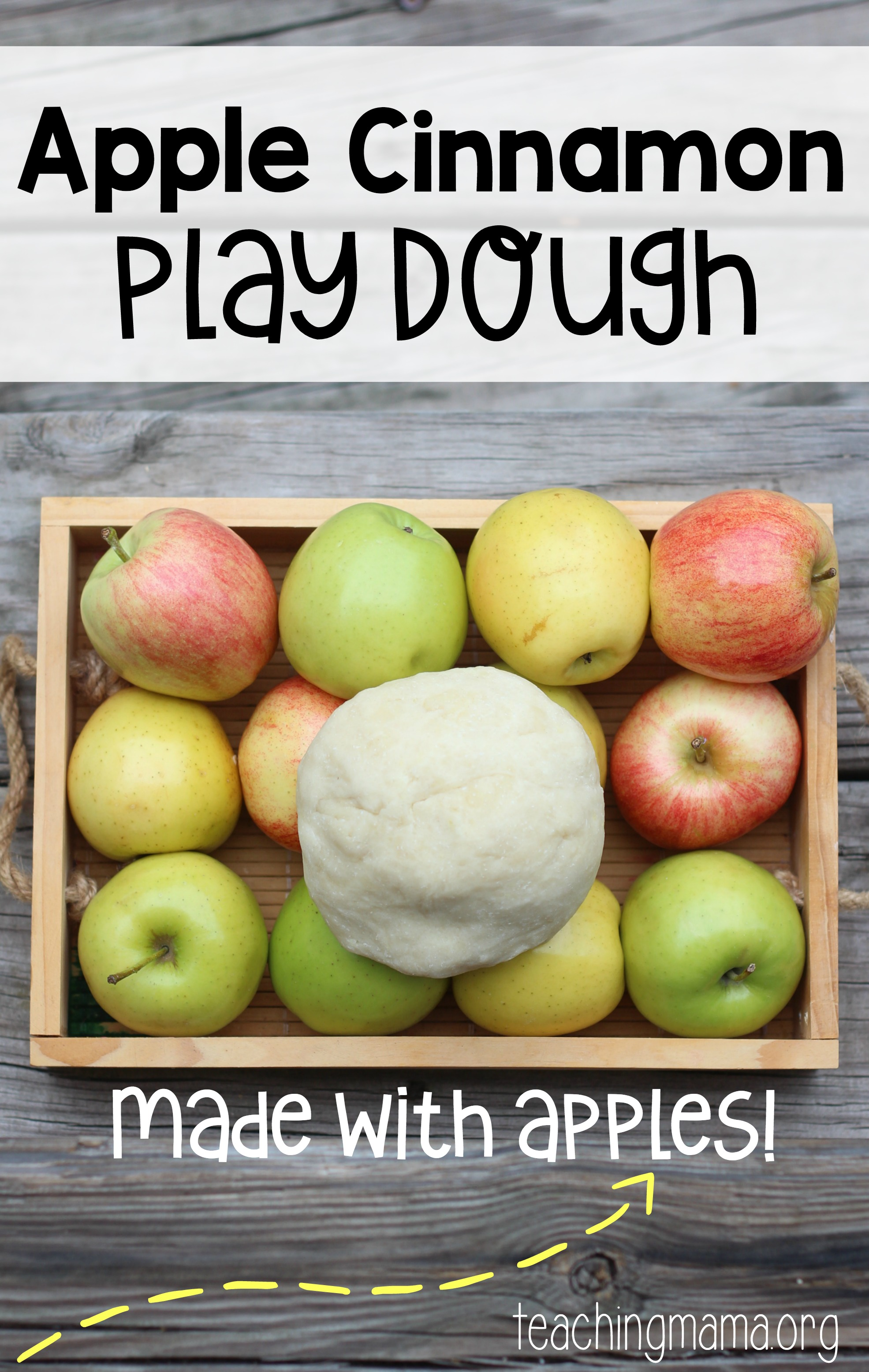 Apple Cinnamon Play Dough Recipe