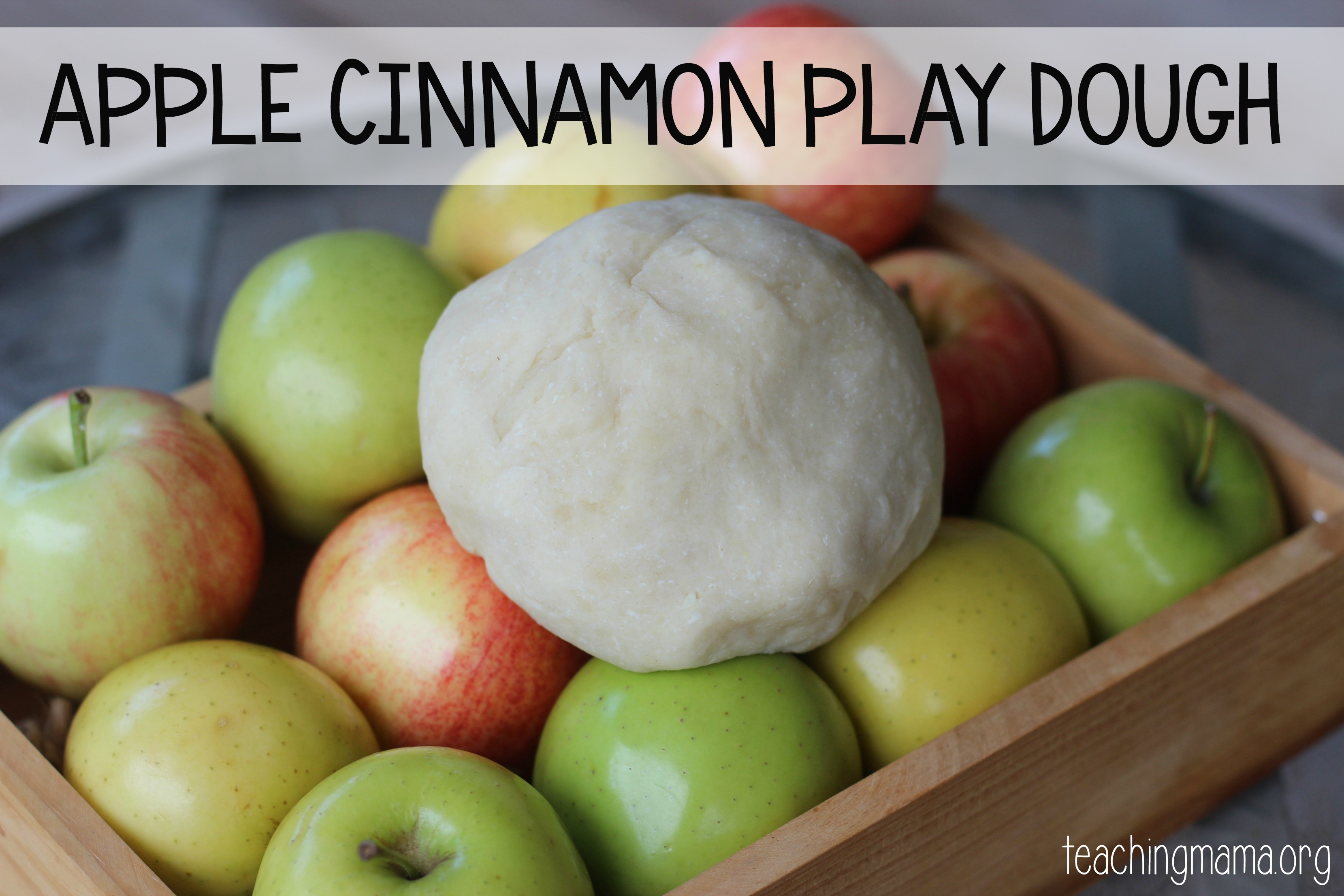 Apple Cinnamon Play Dough
