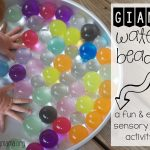 Giant Water Beads – Amazing Sensory Activity!