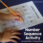 Numbered Pumpkins – Number Sequence Activity