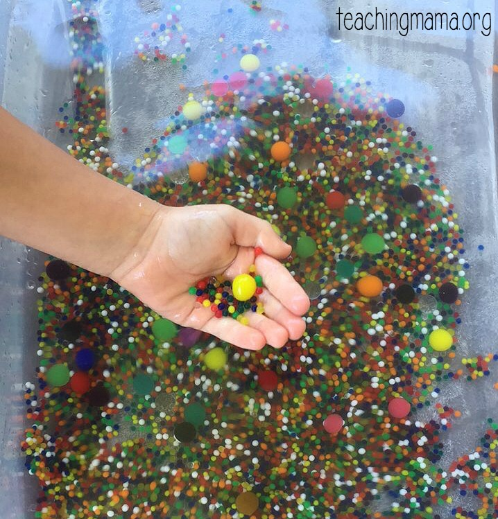 Growing Water Beads