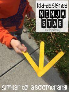 Kid-Designed Ninja Star