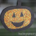 Pumpkin Window Craft