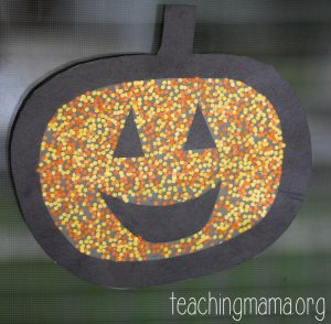 Pumpkin Window Craft