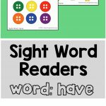 """Sight Word Readers for the Word """"Have"""""""
