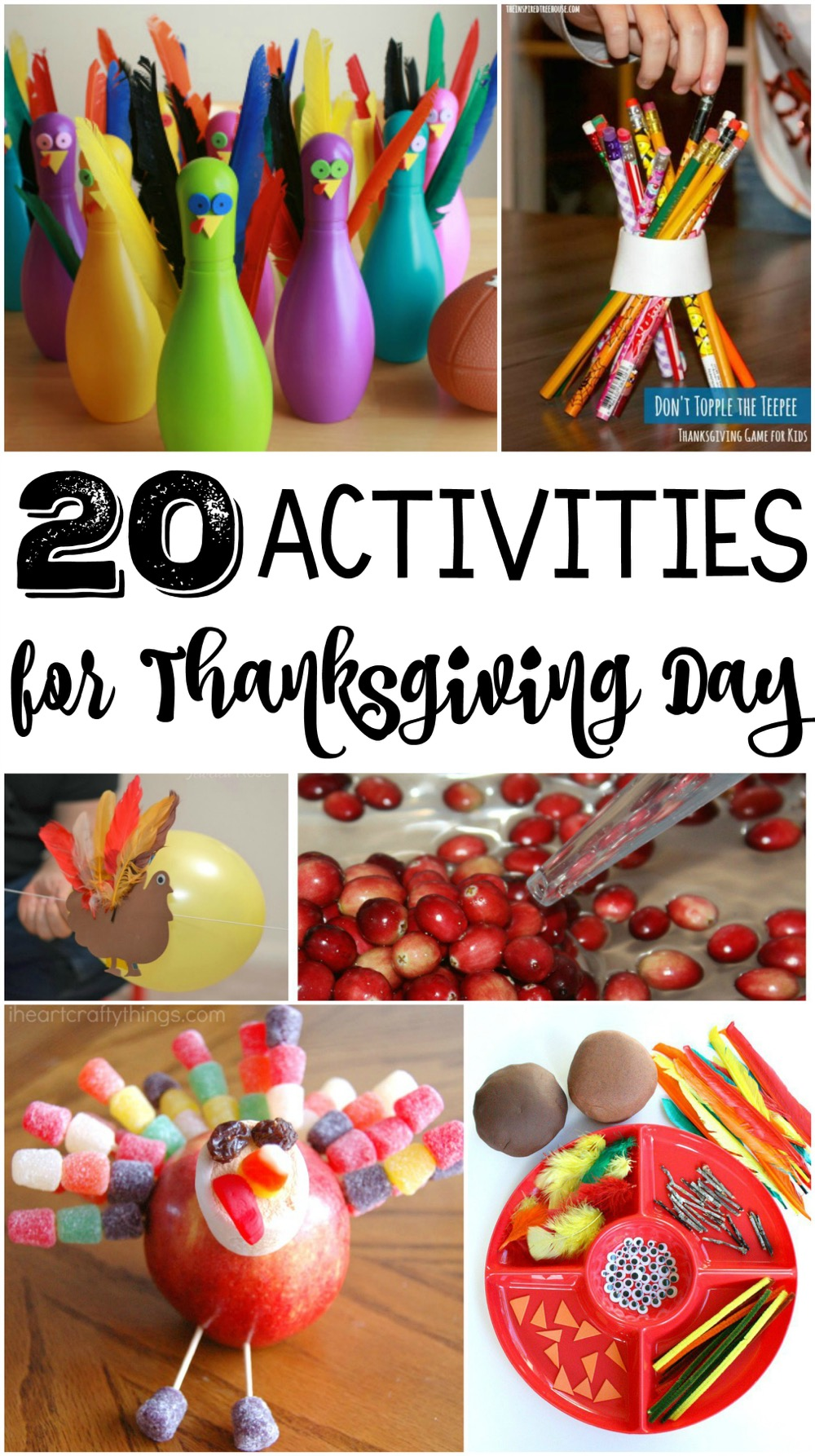 20 Activities for Thanksgiving Day