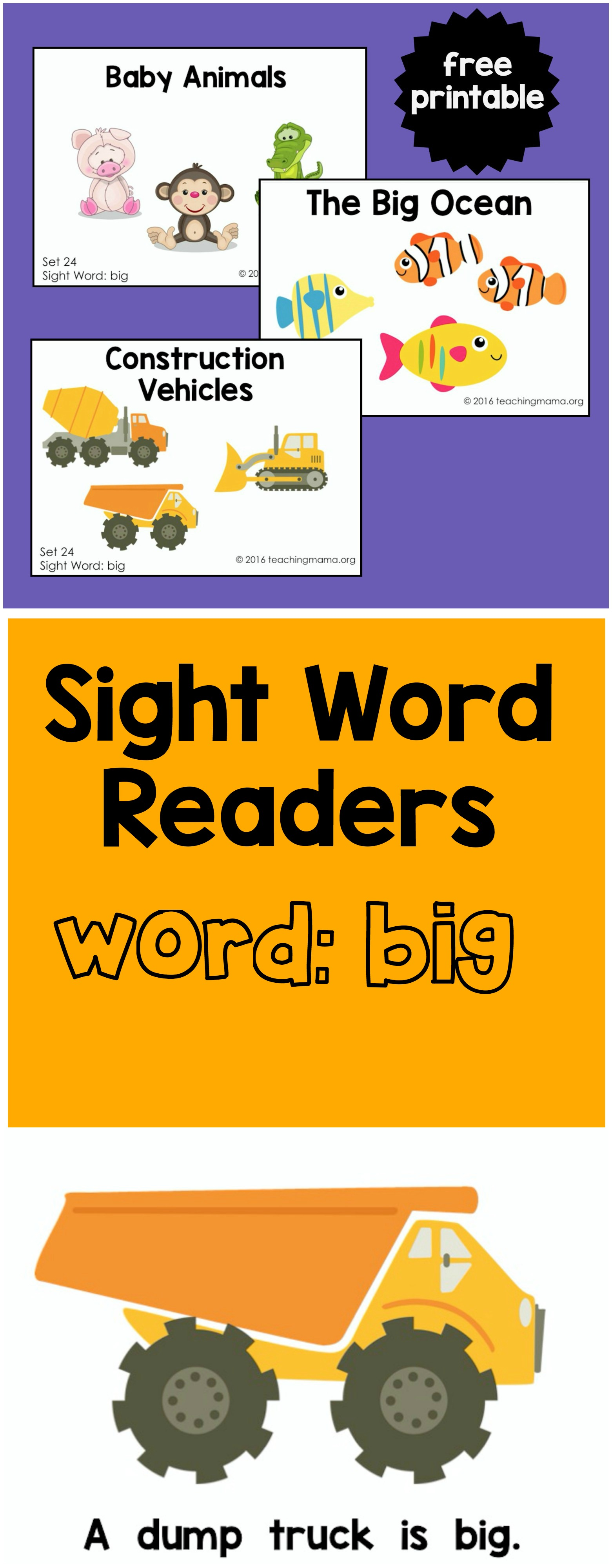 big-sight-word-readers