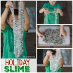 Holiday Slime Recipe