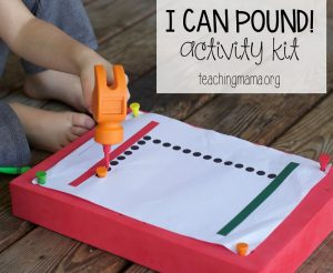 I Can Pound Activity Kit – Giveaway!