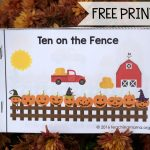 Ten on the Fence Printable Booklet