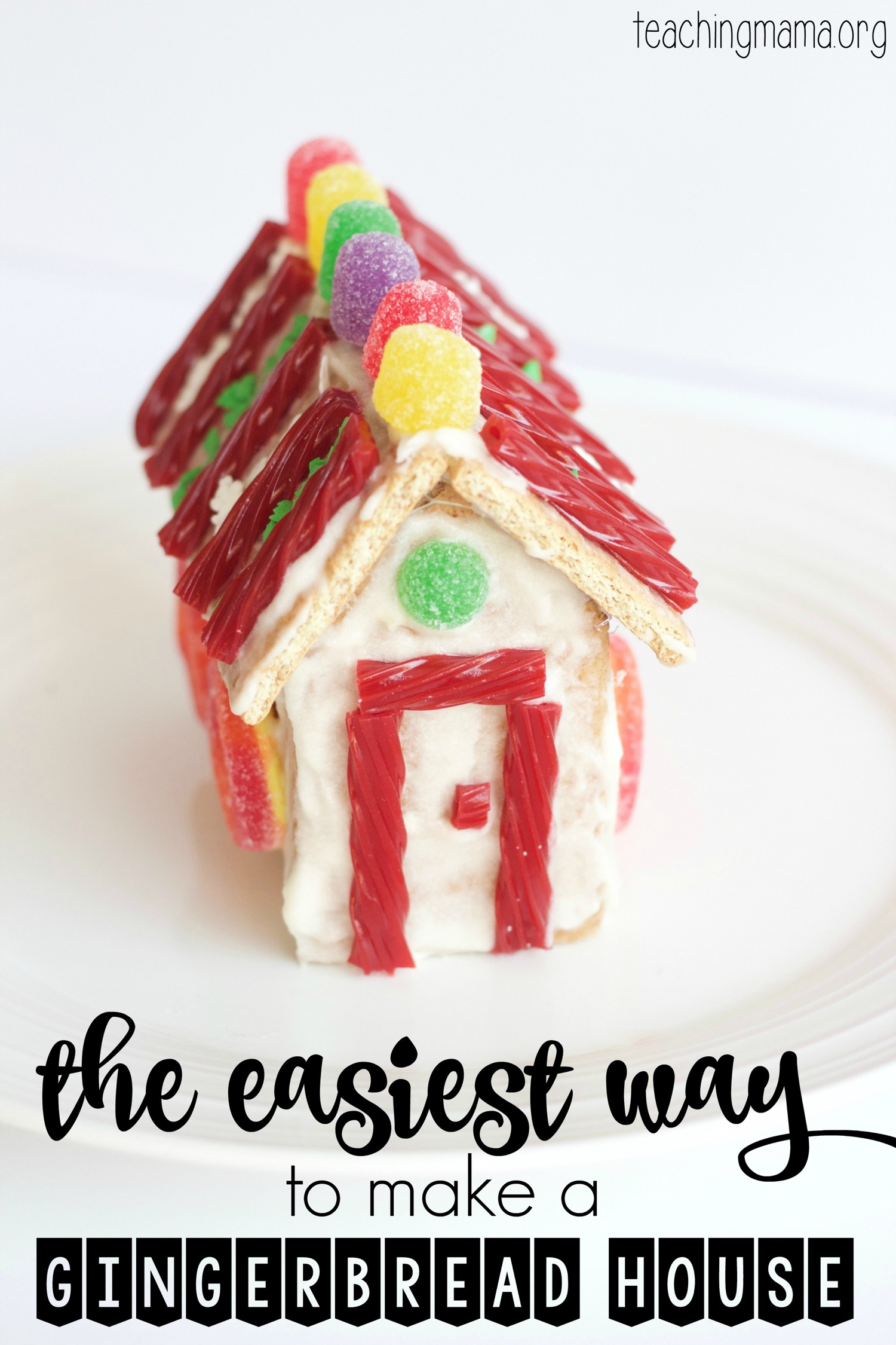 Easiest Gingerbread House to Make