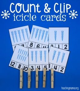 Icicle Cards