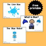"Sight Word Readers for the Word ""Blue"""