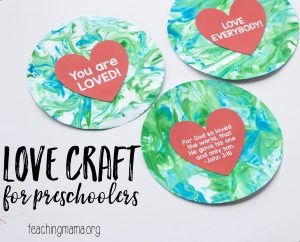 love craft preschoolers