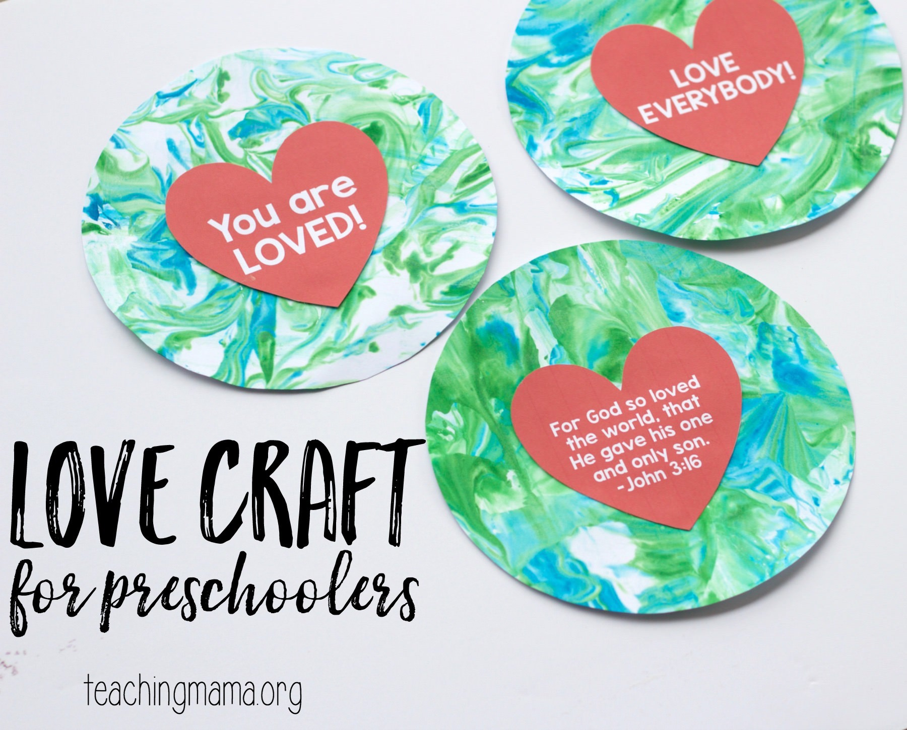 Love Craft for Preschoolers - Teaching Mama