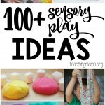 100+ Sensory Play Ideas
