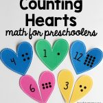 Counting Hearts for Preschoolers