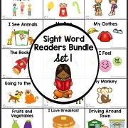 sight word readers- set 1