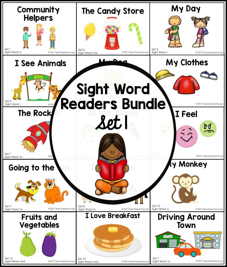 sight word readers- set 1