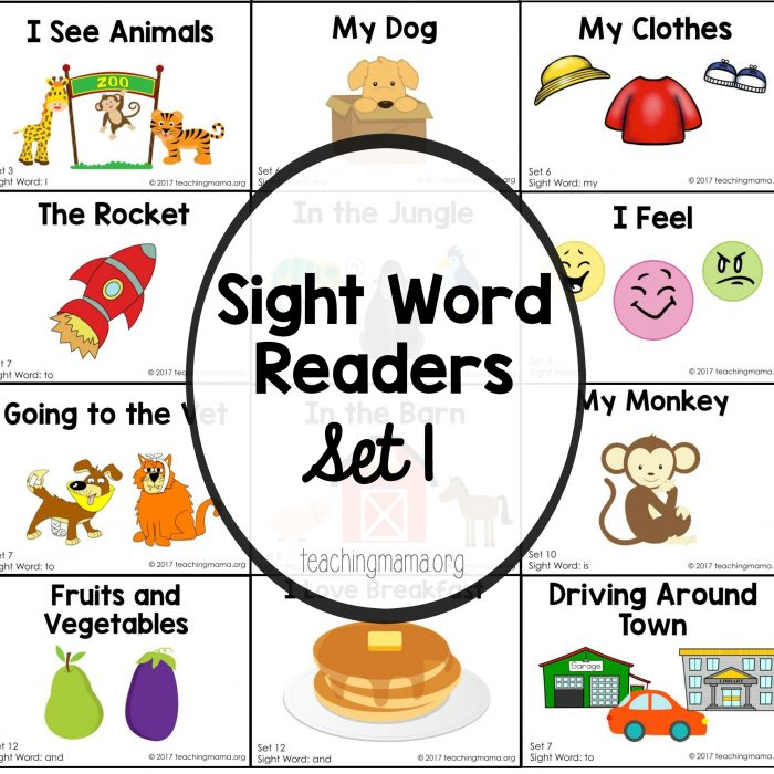 sight words square