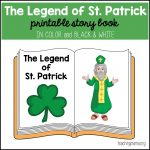 The Legend of St. Patrick – Printable Booklet