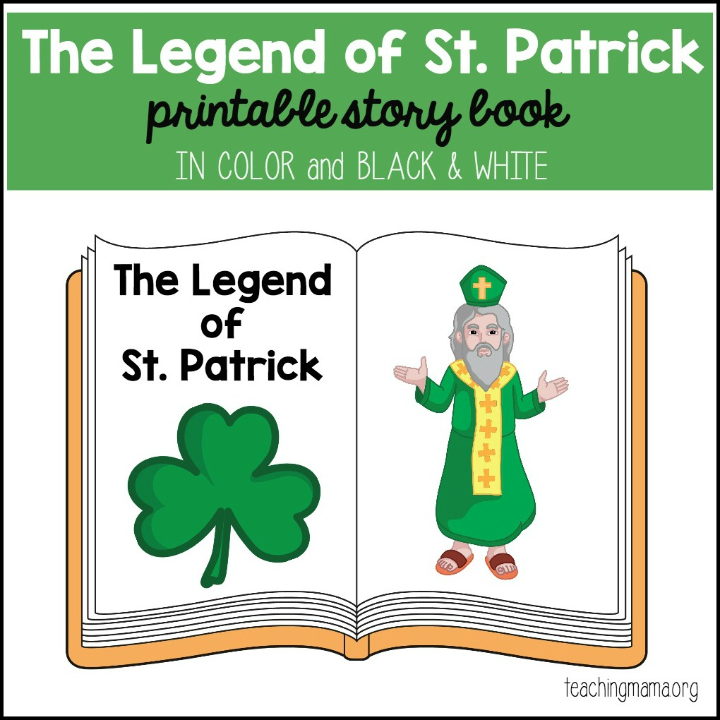 St. Patrick Printable Booklet