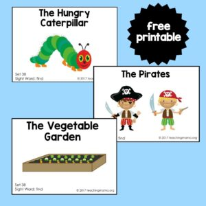 """Sight Word Readers for the Word """"Find"""""""