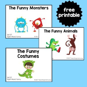 "Sight Word Readers for the Word ""Funny"""
