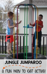 The Jungle JumpaRoo – a Fun Way to Get Active!