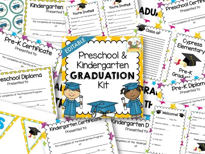 Preschool Graduation Invitations futurecliminfo