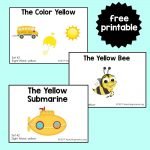 "Sight Word Readers for the Word ""Yellow"""