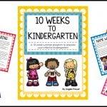 10 Weeks to Kindergarten