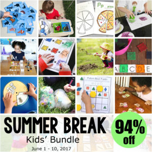 kids bundle summer break