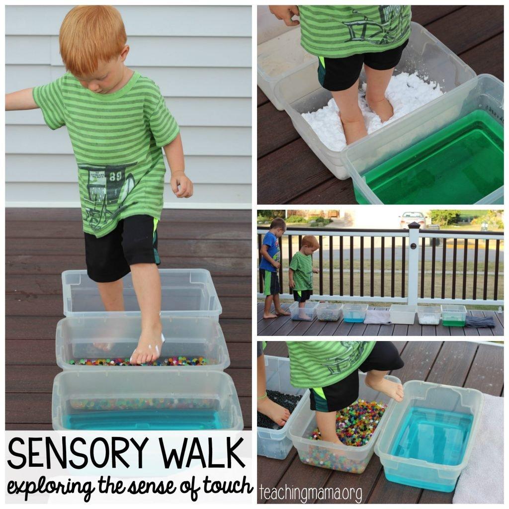 sensory walk