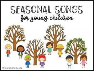 seasonal songs for kids