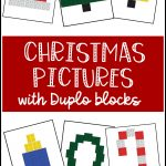 christmas Duplo cards