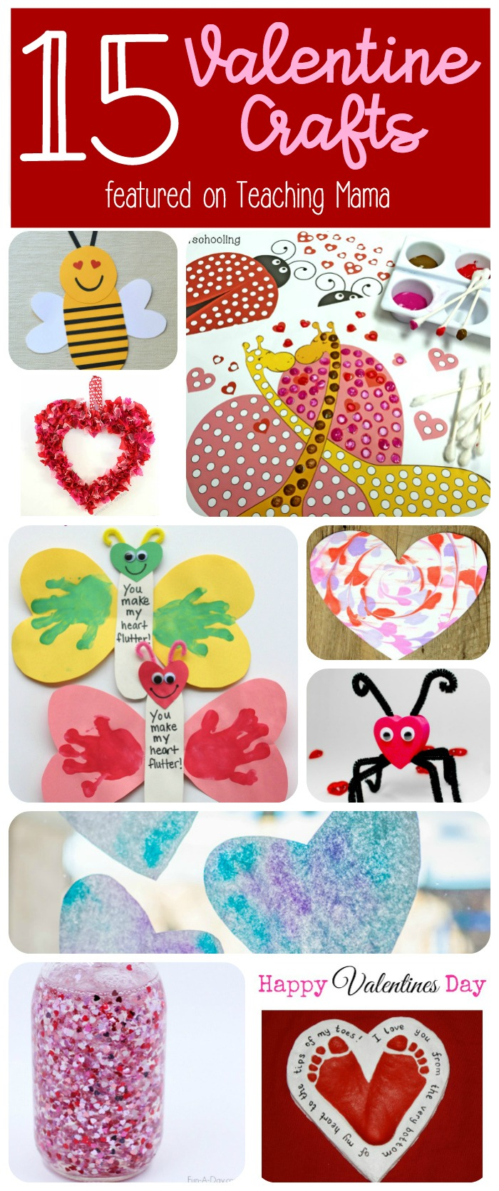 15 Valentine Crafts for Kids