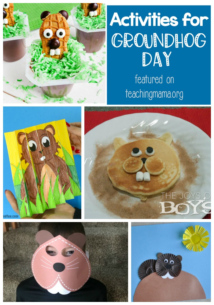 Activities for Groundhog Day