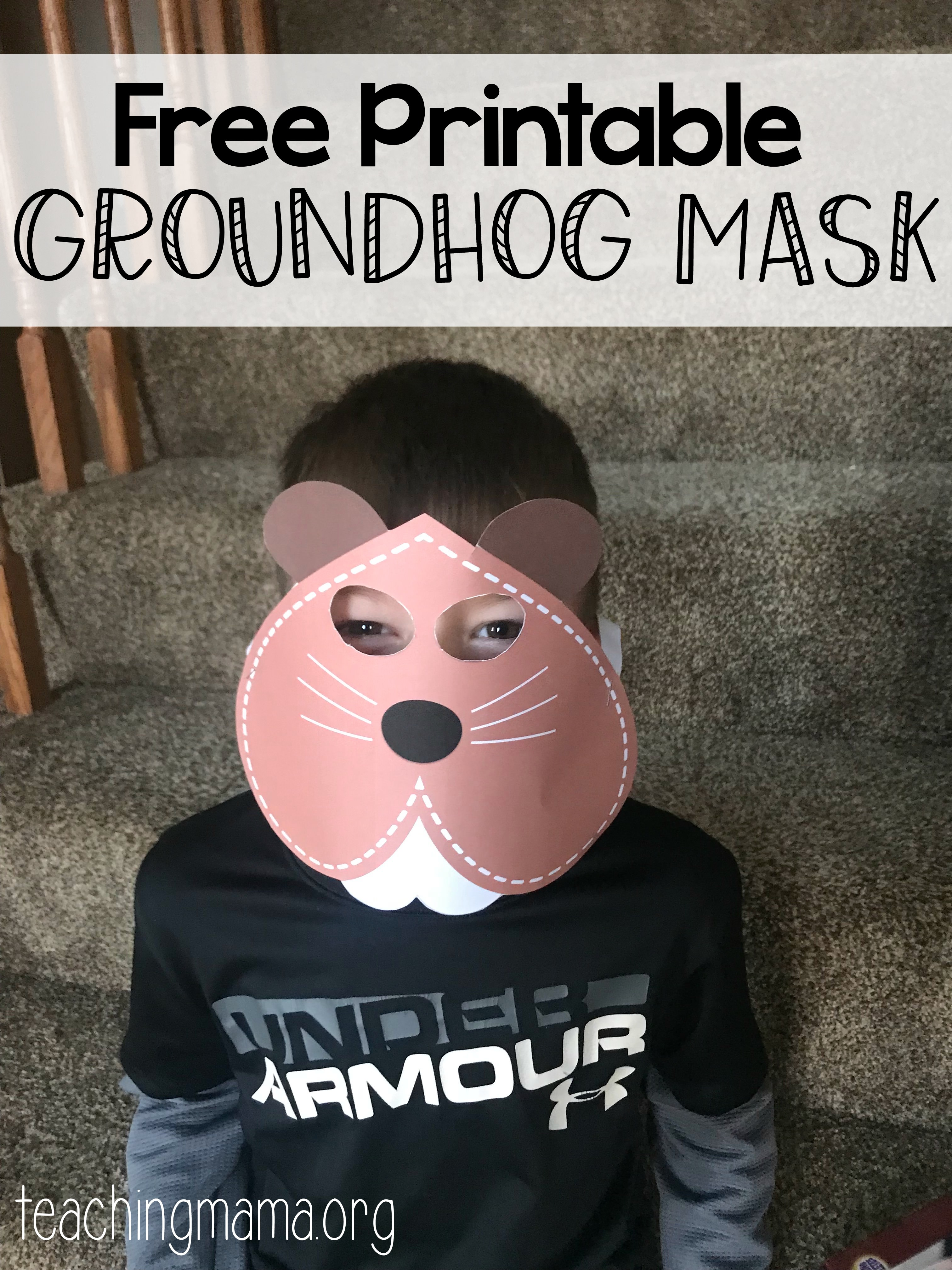 graphic relating to Ground Hog Printable titled Groundhog Working day Pursuits - Training Mama
