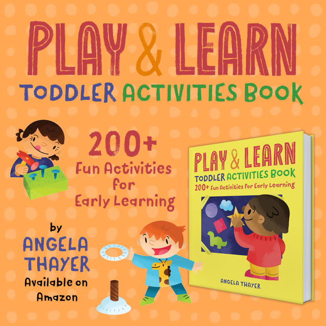 play and learn toddler activity book