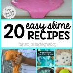 easy slime recipes