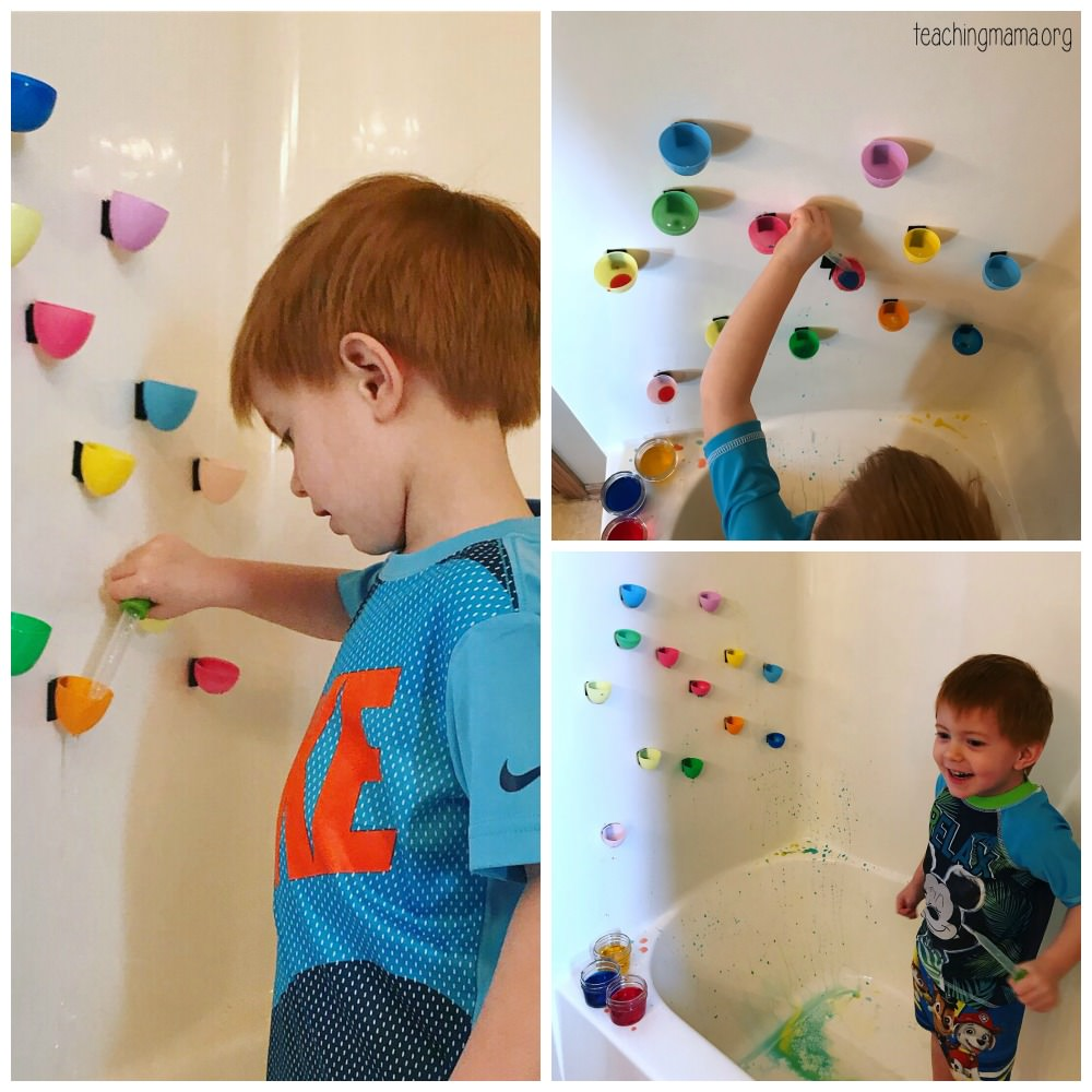 Plastic egg water wall
