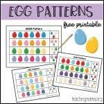 Egg Patterns Printable