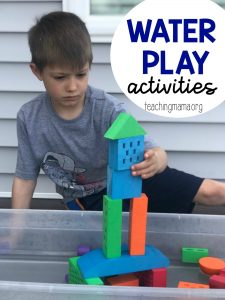 Water Play Activities