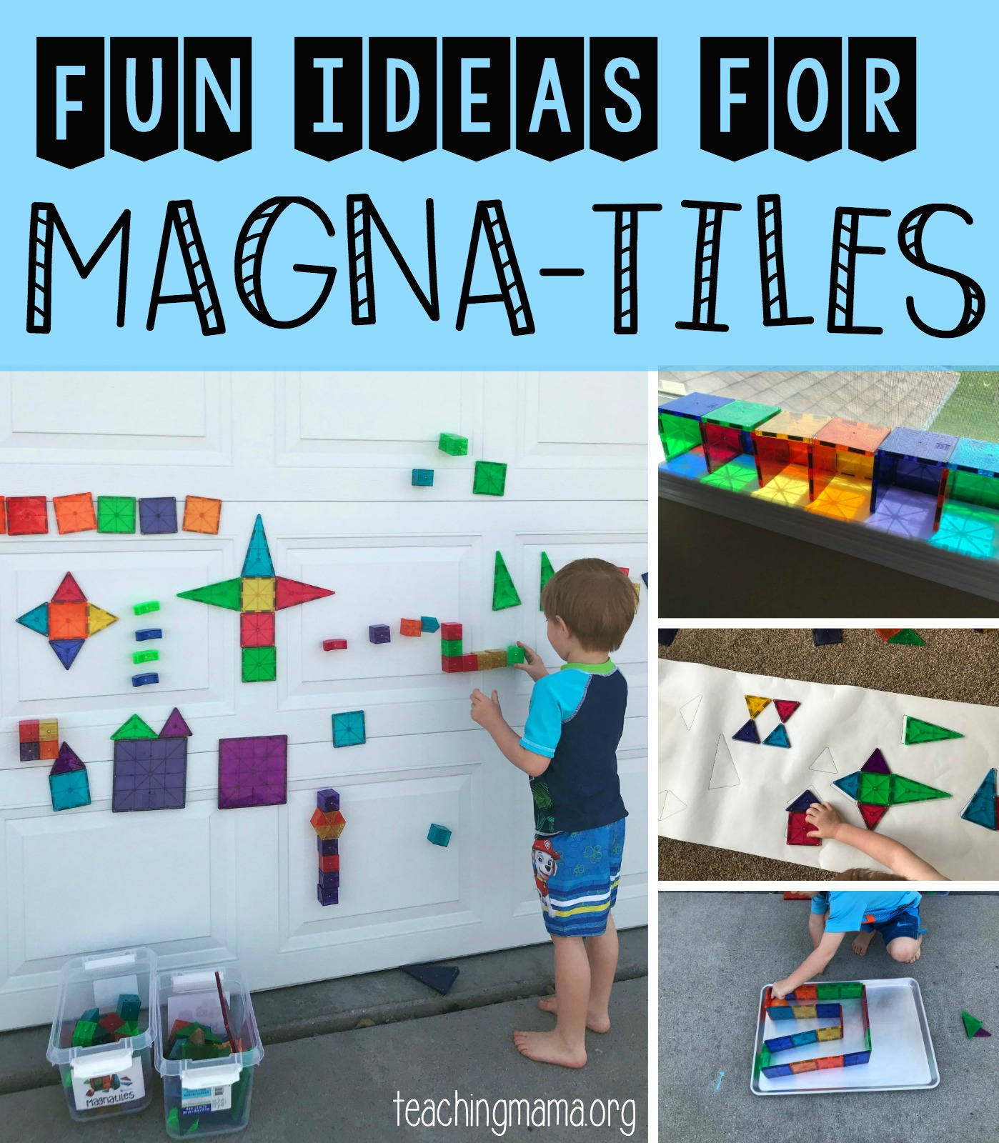 Fun Ideas for Magna-Tiles