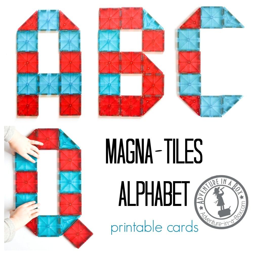 magna-tiles alphabet