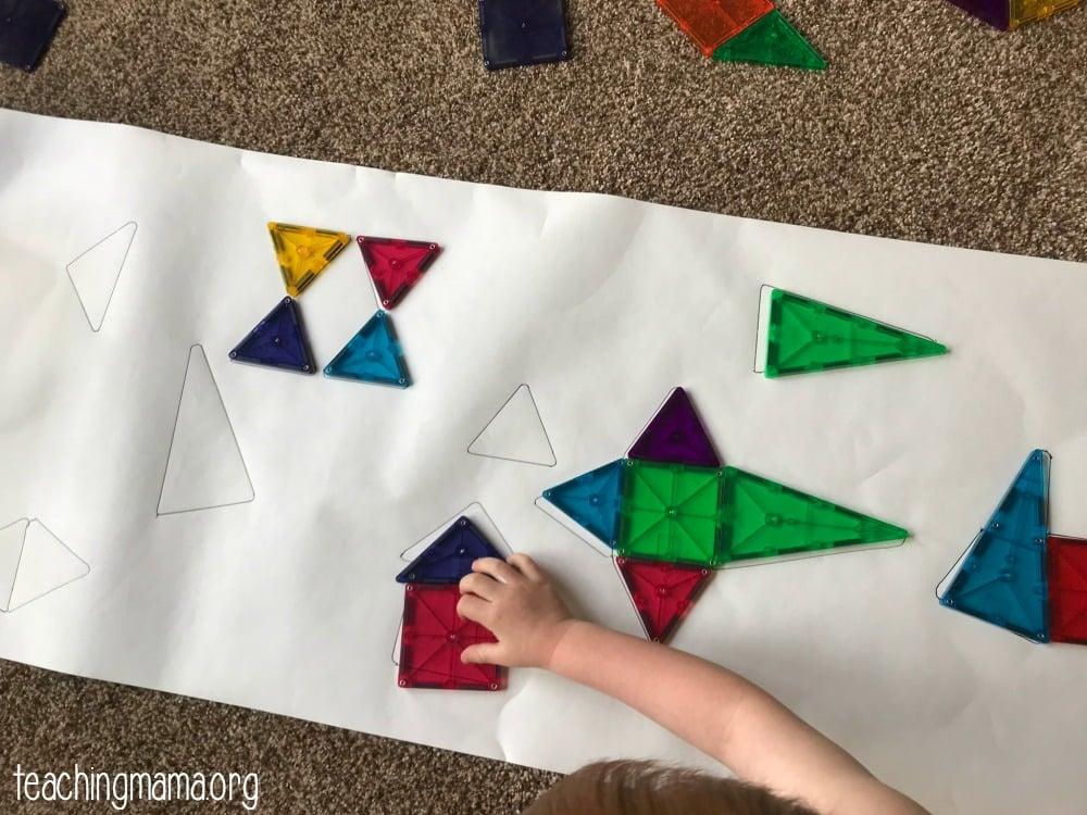 magna-tile puzzle