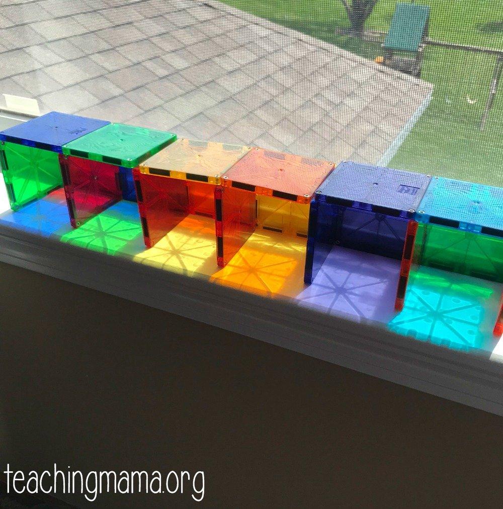 magna-tile shadows