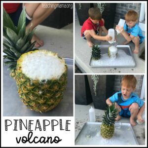 pineapple volcano activity
