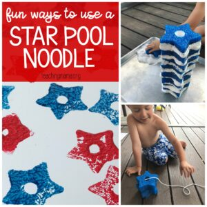 fun ways to use a star pool noodle